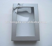 paper box with pvc clear plastic window(WZ5153)