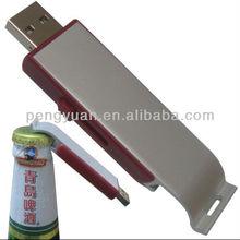 New arrival Promotional gift USB flash drive bottle opener, bottle opener usb custom logo available (PY-U-457)