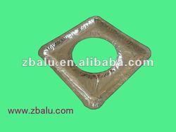 8 inch square aluminium foil gas/stove mat
