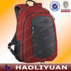 Red waterproof laptop school backpack