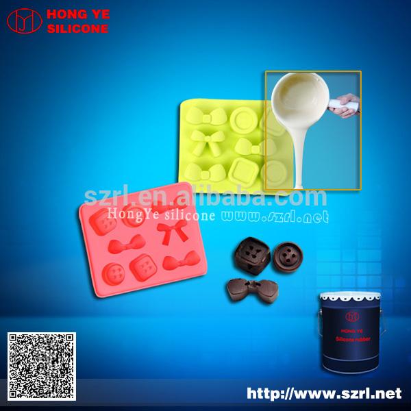 alta resistência de moldes de silicone para o concreto