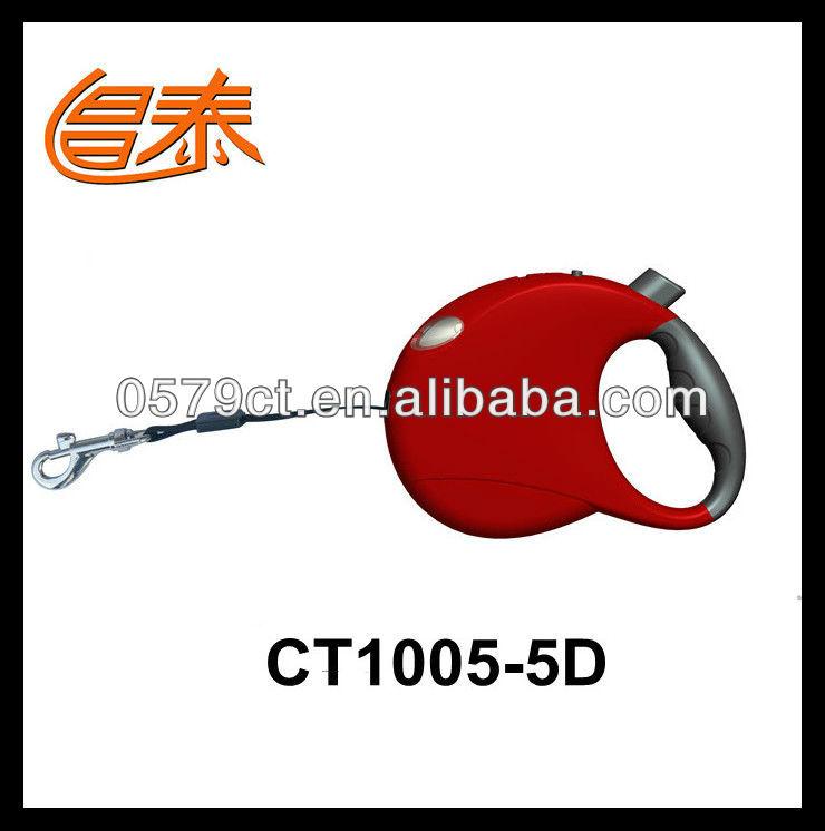 Retractable dog leash with LED, patent dog leash/pet supplies