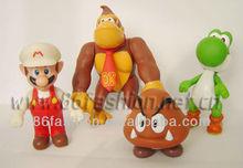 Plastic Mario dolls,plastic cartoon figures,PVC dolls