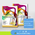 Premium full madeira 115 g, 160 g, 180, 200 g 3R a4 alto brilho papel fotográfico para toda a jato de tinta impressoras