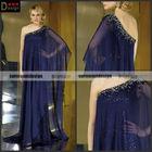 CH1998 Surmount Beautiful One Shoulder Flowy Chiffon Evening Dresses For Pregnant Women