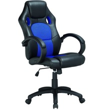 High quality cheap racing office Chair/China Furniture/Recaro Chairs with PU leather and mesh K-8850