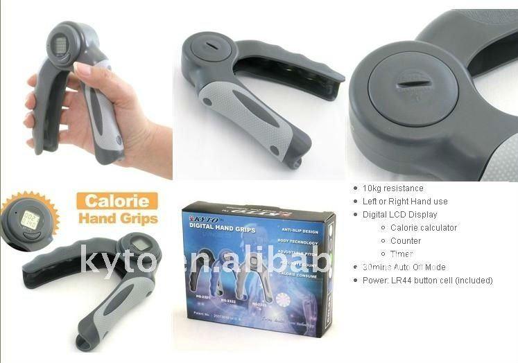 Digital de calorías quemadas y el recuento de los apretones de mano hg-2323b