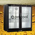 refrigerador do frasco de cerveja undercounter back bar cooler