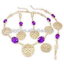 Fashion chunky style jewelry sets/ female jewelry set