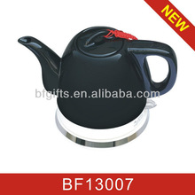 2015 year 300pcs New style black Green and healthy Wireless Ceramic Kettle01--