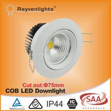 CE SAA approved 10W Waterproof bathroom LED Down light ,IP64 bathroom LED ceiling Down light