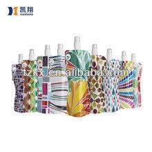 Snap Fastener Carabiner Carried Foldable Folding Water Bottle