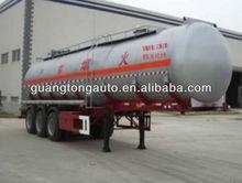 chemical liquid transportation semi trailer