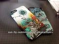 3D sublimación del teléfono celular de plástico / caja del teléfono celular 3D / 3D sublimati en blanco de la cubierta del teléfono