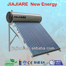 EN12976 Approved intergrated pressurized heat pipe solar water heater