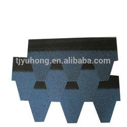 Blue Asphalt Roofing