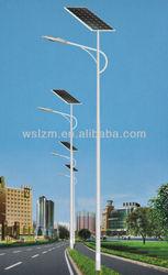 solar power energy street light with pole