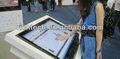 Richtech 32 pulgadas táctil de infrarrojos marco, dos puntos de contacto, de vidrio con el envío rápido para la publicidad