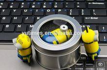 Free sample low price wholesale minions 64gb usb 2.0 flash drive