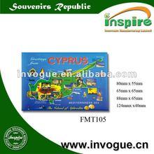 Tin plate Fridge magnet FMT105, magnets for fridge