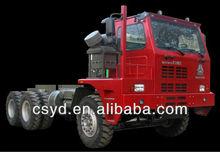 High reputation HOWO 6x4 mining dipper trucks