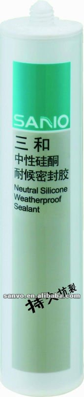2014 Advanced Neutral Weather-proof Glass Silicone Sealant