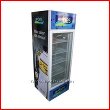 190L Glass Door Bar Fridge, Chiller Display, Commercial Cooler
