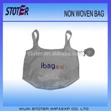 high quality cheap print foldable reusable handbags foldable shopping bag