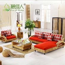 Hotsale Modern Luxury Design Rattan Seagrass Living Room Sofa furniture