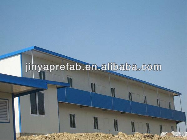 Красивая удобный 2 этаж современный модульный дом