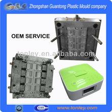 manufacturer(OEM) mini loudspeaker box plastic mould,plastic pond moulds