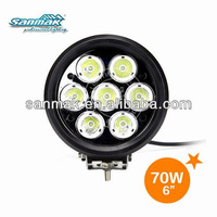 SM6701,70W Tractor Work Light Driving Light With 10W High Power CREE LED