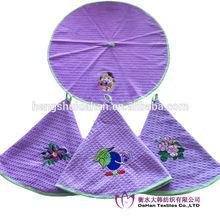 100% cotton round kitchen towels embroidery designs