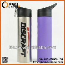 2014 Hot sale stainless steel water bottle,water bottle/sports bottle with carabiner