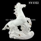ceramic horse sculpture home decorations