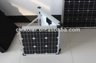 160W portable fold-up solar power charger panel