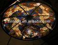 manchado de vidro da clarabóia de vidro da clarabóia do telhado