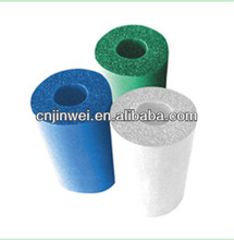 Kingflex colorful closed cell foam pipe insulation for air conditioner