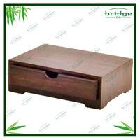 Eco-friendly Bamboo Mini Jewel Case