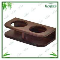 100% Full Wooden Kitchen Tea Bamboo Cup Rack