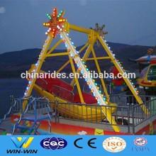 Zhengzhou Win Win Beautiful design theme park ride playgrounds kids boat swing for sale