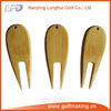 Bamboo golf club pitch fork repair tool
