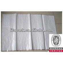 pp woven flour sack with lamination70x40cm