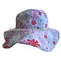 La moda de las muchachas del sombrero del sol