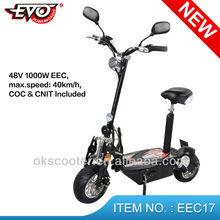 New EEC evo electirc scooter