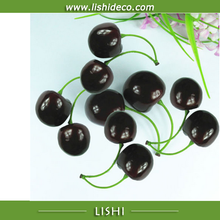 Artificial fruit cherry for decoration