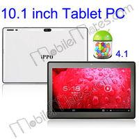 IPPO V10 Google Android 4.1 10.1 Inch Tablet PC RK3066 16GB 2 Camera Support Wifi G-sensor Bluetooth V2.1 EDR