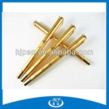 Gold Laser Cutting Free Ink Metal Roller Ball Pen