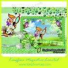 Digital photo frame ,epoxy photo frame,printed fridge magnetic photo frame