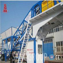 25m3/h Portable Mobile Ready Concrete Batch Plant